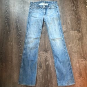 7 for all Mankind • distressed Flynt bootcut Jeans